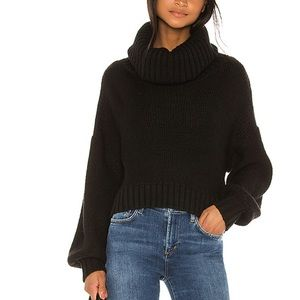 Revolve Lovers + Friends Ryder Sweater in Black